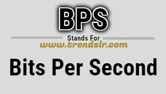 Full Form of BPS
