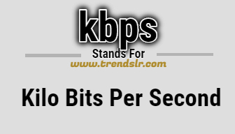 Full Form of KBPS