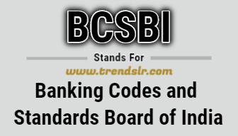 Full Form of BCSBI