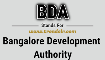 Full Form of BDA