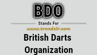 Full Form of BDO