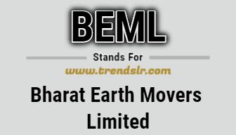 Full Form of BEML
