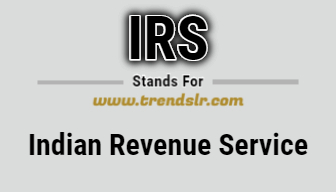 Full Form of IRS