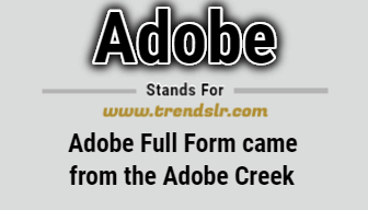 Full Form of Adobe