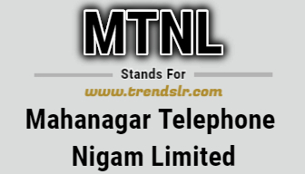 Full Form of MTNL