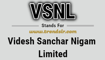 Full Form of VSNL